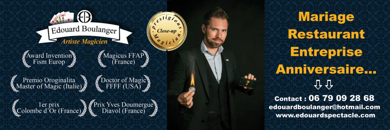 Edouard Spectacle Born To Be Magic
