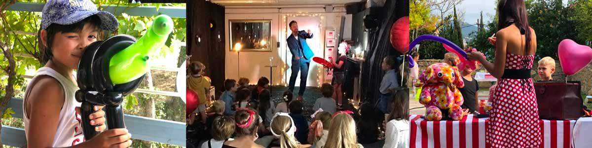 magicien sur marseille pour animer anniversaire enfants