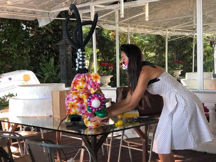 sculpture sur ballons pour enfants mariage à Cannes
