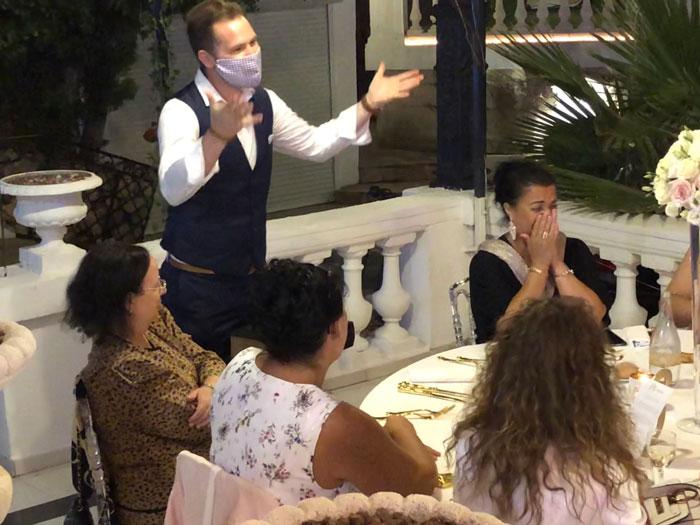magie de table à table mariage